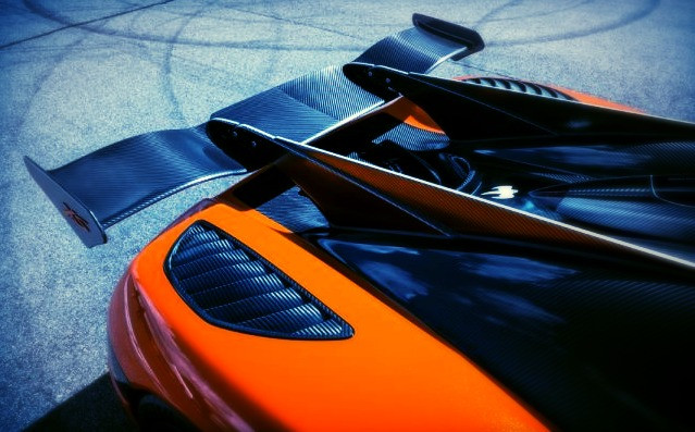 Koenigsegg Agera XS rear spoiler is biggest ever used by the supercar manufacturer.