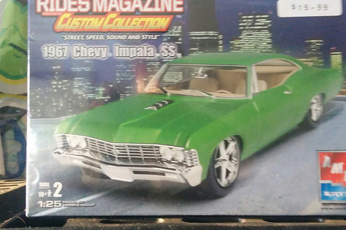 1967 Chevy Impala SS 1/25th Scale