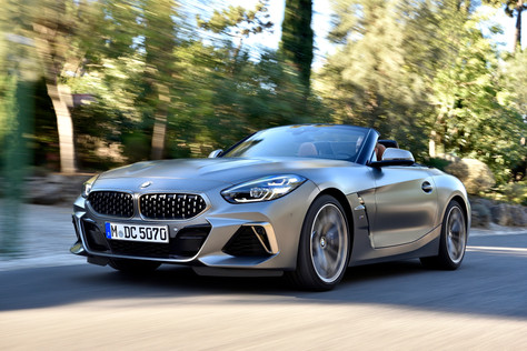 The New BMW Z4 - Hidden Pleasure