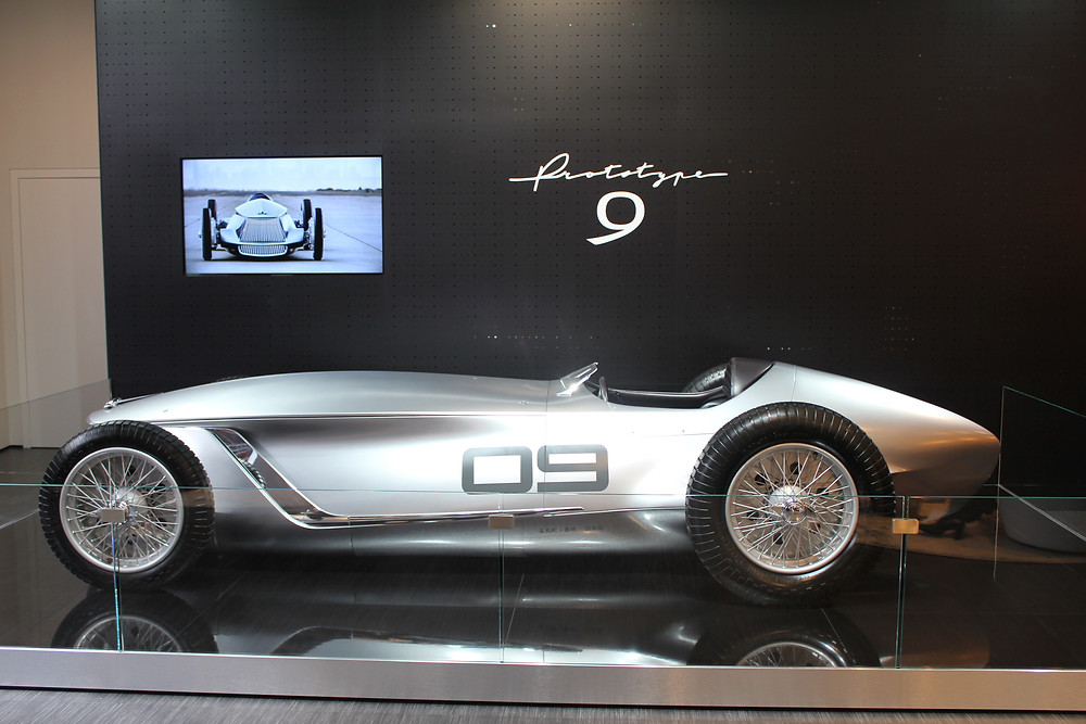 Infiniti concept car at North American International Auto Show