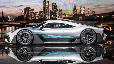 MERCEDES - AMG PROJECT ONE - 1000 HP CAR UNVEILED IN TORONTO