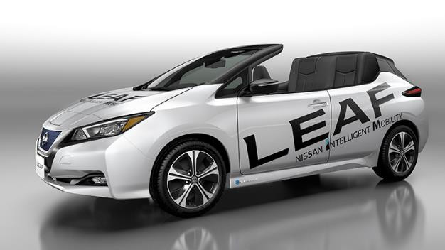 Nissan Leaf Convertible