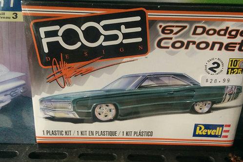 67' Dodge Coronet 1/25 Scale