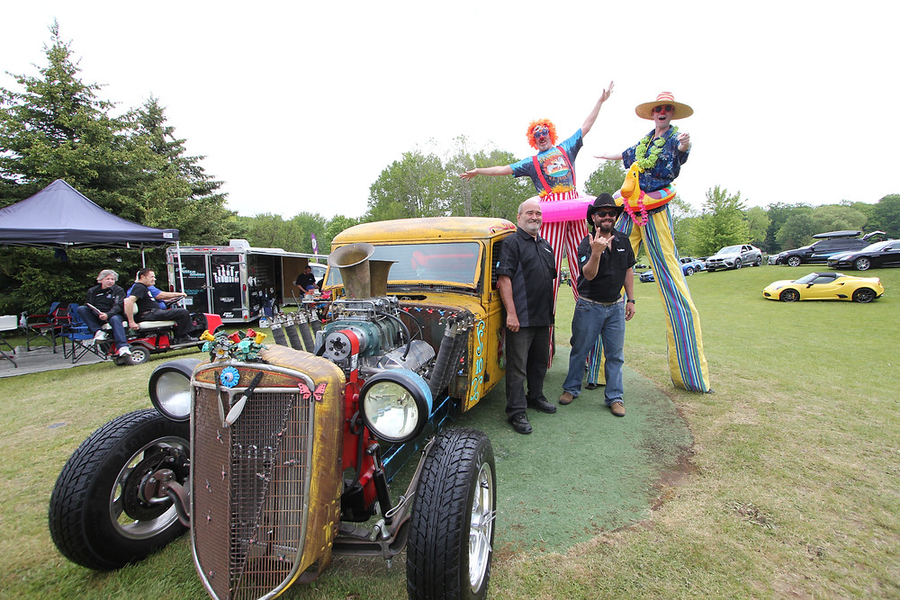 Michael Sharpe's Clown Car - Custom Rat Rod
