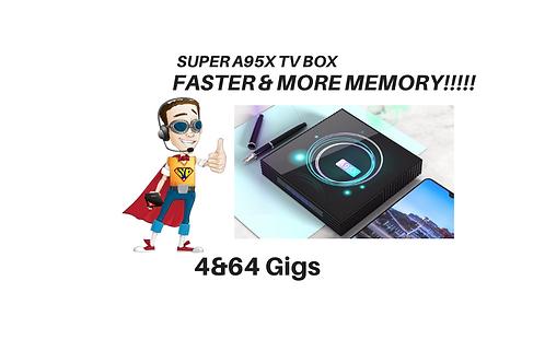 A95X SUPER TV BOX - FASTER & MORE MEMORY