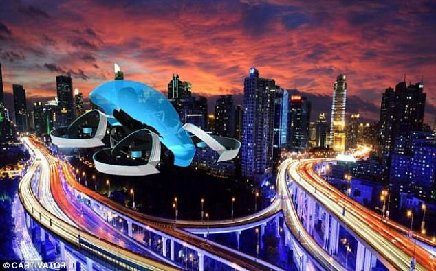SKYDRIVE Could be Toyota's First Flying Car