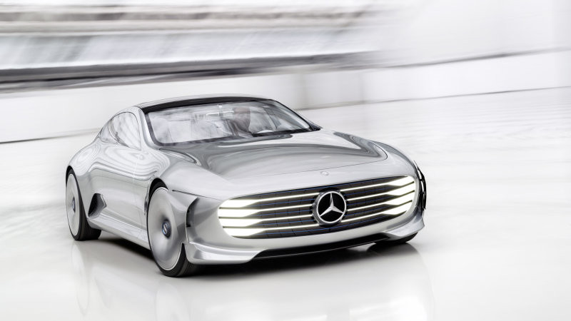 Artist rendering of what Mercedes Benz High Performance Electric Car could look like. Image Credit: Mercedes Benz