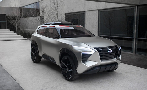 Nissan Xmotion revealed at North American International Auto Show
