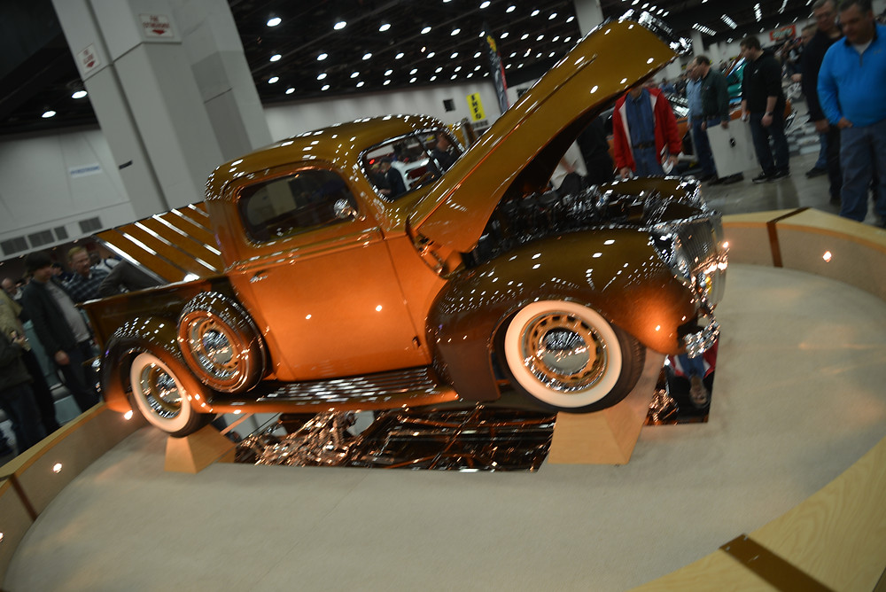 41 Ford Pick Up Great 8 Contender at Detroit Autorama
