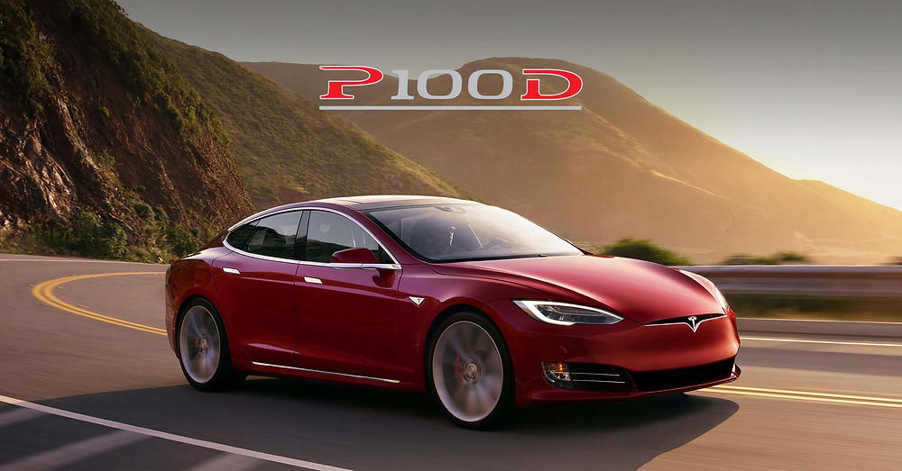 Tesla Model S P100D - world's fastest production car. SST Car Show News