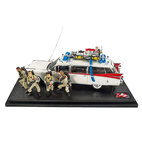 GhostBusters Hotwheels Elite Diecast 1/18 scale