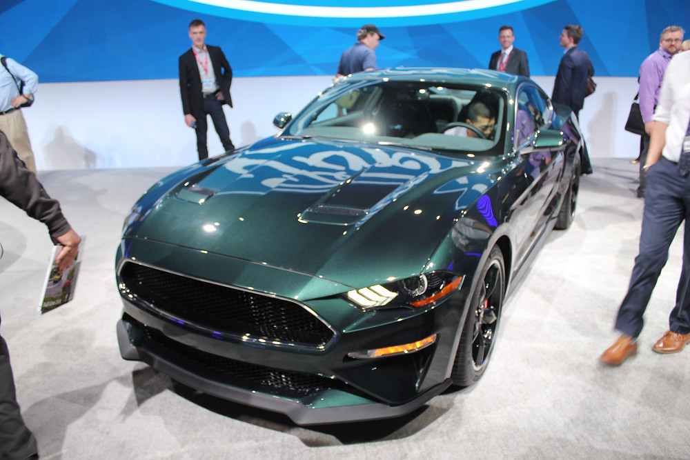 2019 Ford Mustang Bullitt at CIAS in Toronto