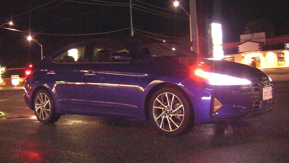 Hyundai Elantra Night Shot