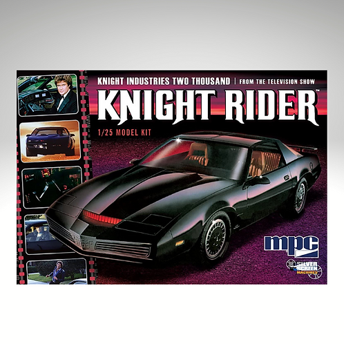 Knight Rider KITT 1982 Pontiac Firebird model kit 1/25