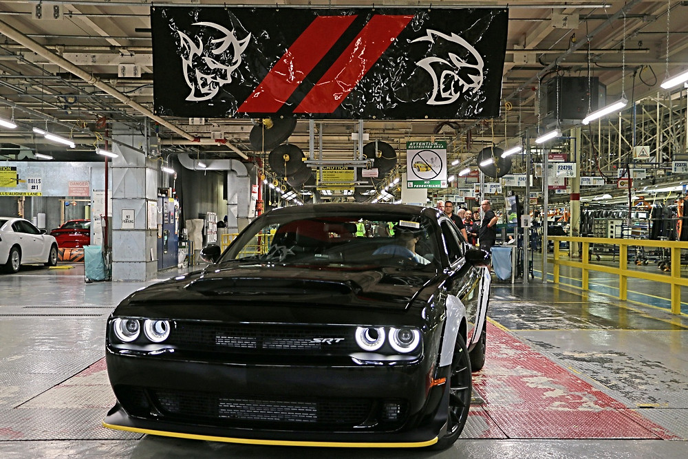Last 2018 Dodge Challenger Demon SRT Rolls Off Assembly Line