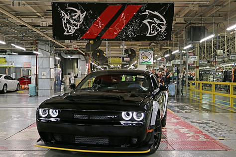 LAST 2018 DODGE CHALLENGER SRT DEMON HEADING TO COLLECTOR AUCTION