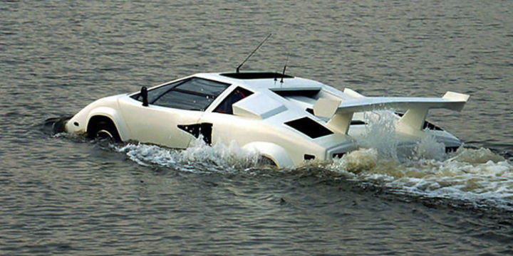 Ebay Photo - Lamborghini Amphibious Vehicle