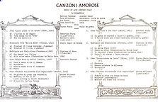 Canzoni anorosi