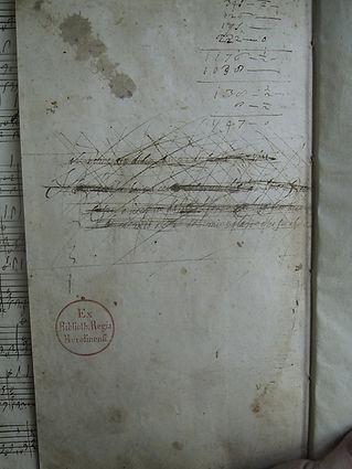 Barbarino Lute Book, p. 406
