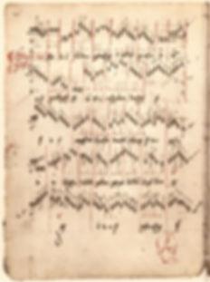 1452 Old German organ tablature — Conrad Pauman