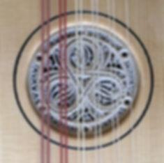 Vihuela rosette by Ian Watchorn