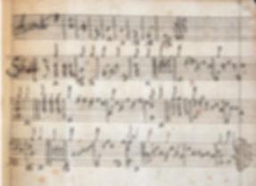 1640 ca. French baroque lute tablature — anon.