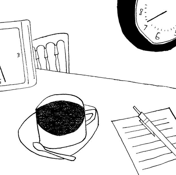 連載エッセイさしえ [小鳥来る日] 平松洋子/著   毎日新聞