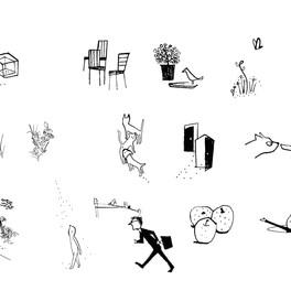 文庫さしえ [毎日をいきいきと生きる100のヒント]加島祥造/著   小学館文庫