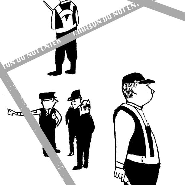 連載小説さしえ [告別という名の交響曲] 藤谷治/著   ポプラ社asta