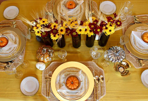Fall Tablescape- Price Available Upon Request