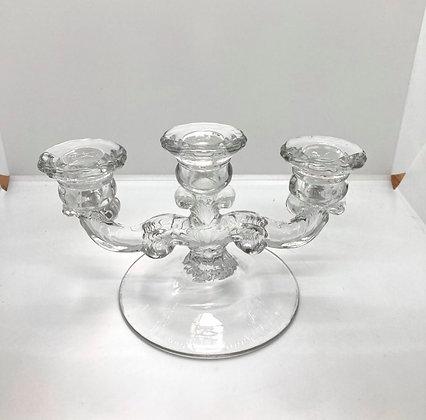 Martinsville glass Candelabra