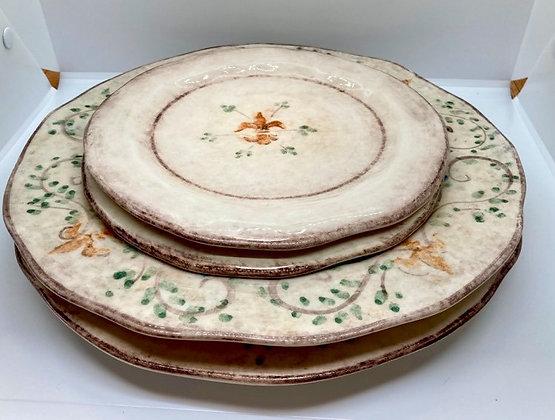Arte Italica Medici Plate Set