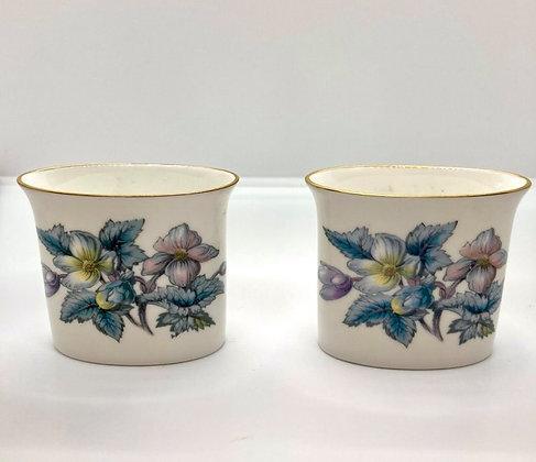 Fine Bone China Painted Mini Vases