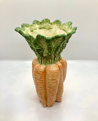 Fitz and Floyd Carrot Bunch Vase