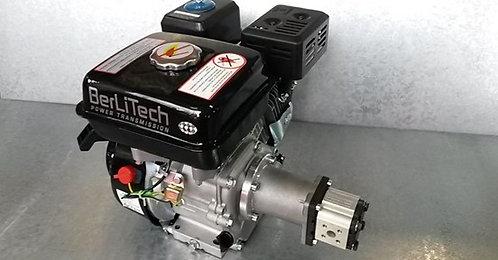 Hydraulikaggregat 6,5PS Benzin Motor + Pumpe bis zu 22ltr/min für Holzspalter