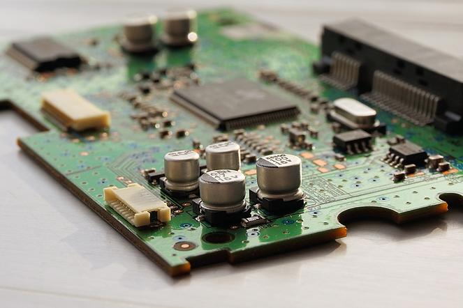 Platine Elektrotechnik Industrie 4.0