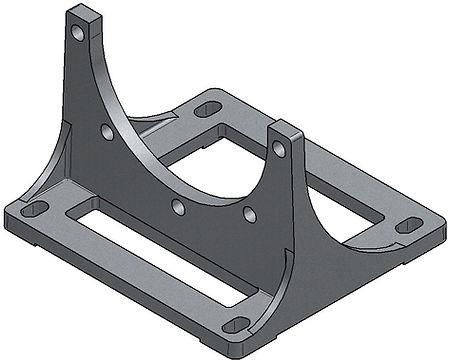 Footbracket PTFL Fussflansch Hydraulik