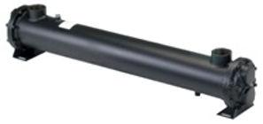 Oil-Water-Cooler / Tube Heat Exchanger Öl-Wasser-Kühler / Rohrbündelwärmetauscher