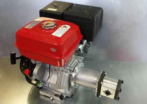 Hydraulikaggregat 13PS Benzin Motor + Pumpe bis zu 54ltr/min für Holzspalter