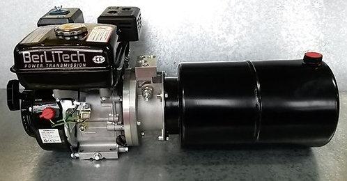 Hydraulikaggregat 6,5PS Benzinmotor + Pumpe 200bar +10ltr Behälter / Holzspalter