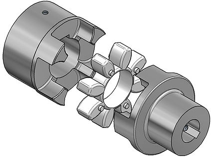 Elastic Kupplung Sonex Hydraulik Coupling Flexible