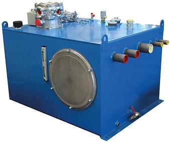 Konstruktion Stahlbehälter Antriebstechnik Hydraulik Power Transmission hydraulic