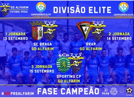FUTEBOL PRAIA | FASE CAMPEÃO