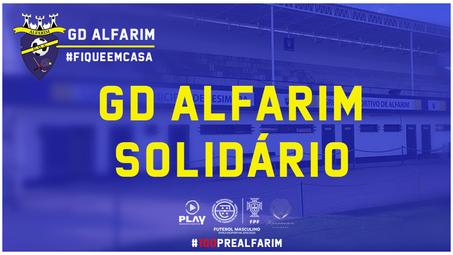 GD ALFARIM SOLIDÁRIO | COM O COMÉRCIO LOCAL