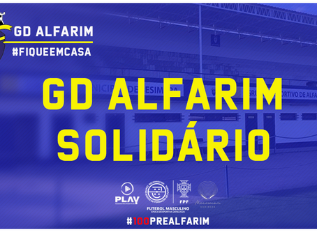 GD ALFARIM SOLIDÁRIO | COM O COMÉRCIO LOCAL