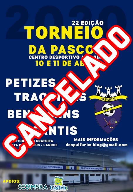 TORNEIO DA PÁSCOA | CANCELADO