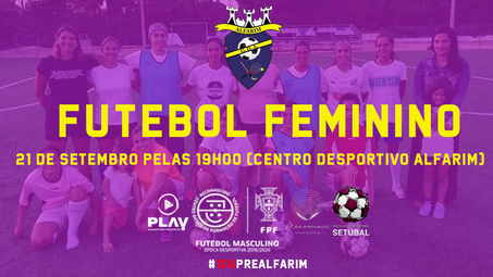 FUTEBOL FEMININO | TREINO CONVÍVIO