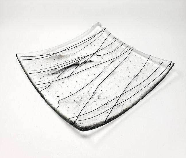 Modern Art Swoop Plate