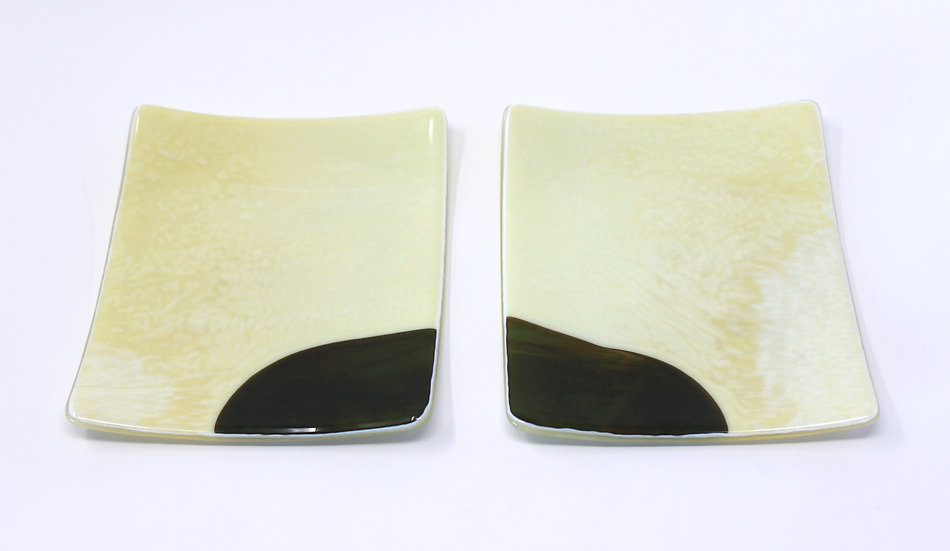Melting Glacier Set of 2 Side Plates