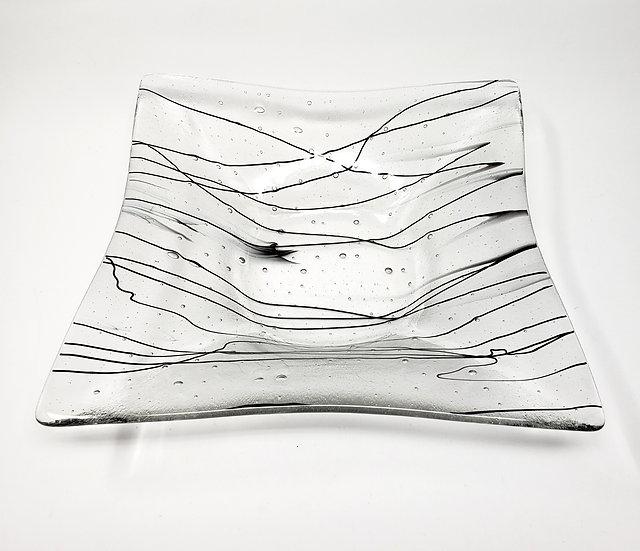 Modern Art Flare Bowl